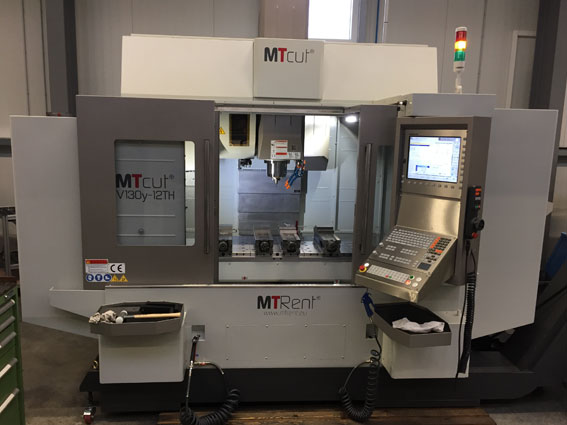Lieferung unserer neuen MTcut V130y-12TH